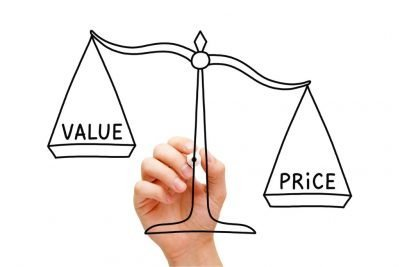 Scale price outweighing value